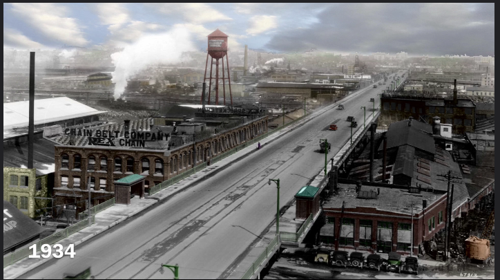 milwaukee Menomonee valley 1929
